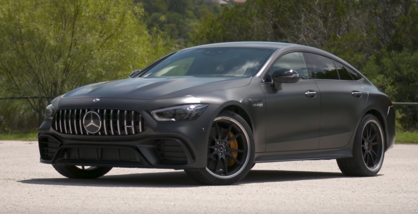 mercedes amg gt 63 s 4 door first review suggests it 39 s slower than e63 autoevolution. Black Bedroom Furniture Sets. Home Design Ideas