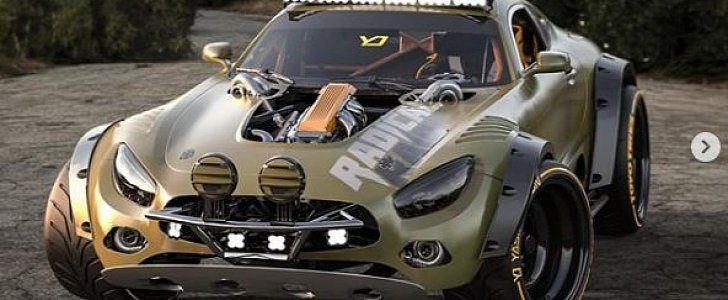 Mercedes-AMG GT All-Terrain Rendered as Supercar Crossover