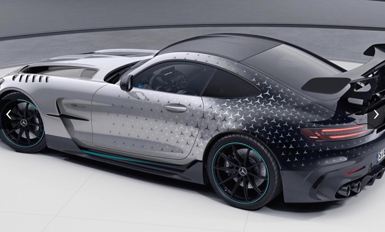 Mercedes-AMG GT Black Series P One Edition to Cost Just ...