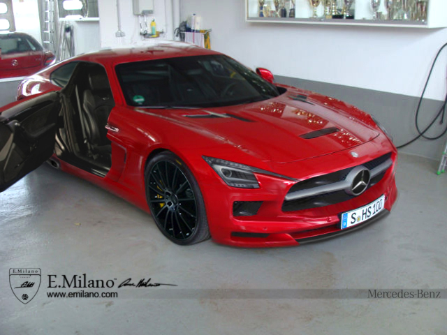 3 photos & Mercedes-AMG GT (C190) With Suicide Doors is Not Real - autoevolution
