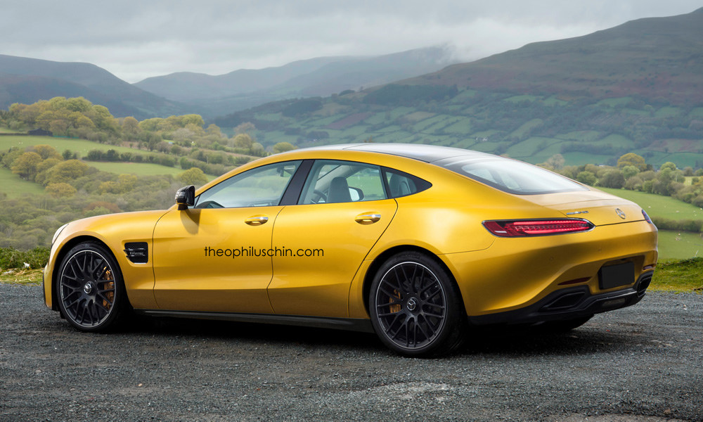Mercedes Amg Gt Dressed As Tesla Model S Doesn T Look Half