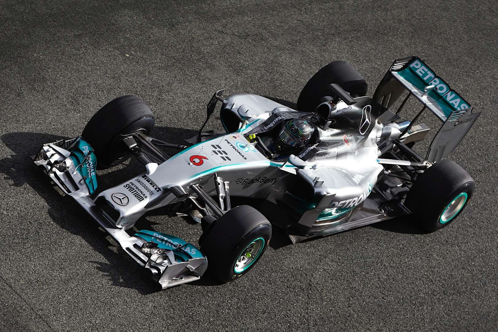 mercedes amg petronas concludes day three of testing at jerez autoevolution. Black Bedroom Furniture Sets. Home Design Ideas