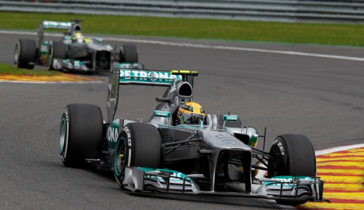 Mercedes-AMG Petronas Getting Ready For Monza