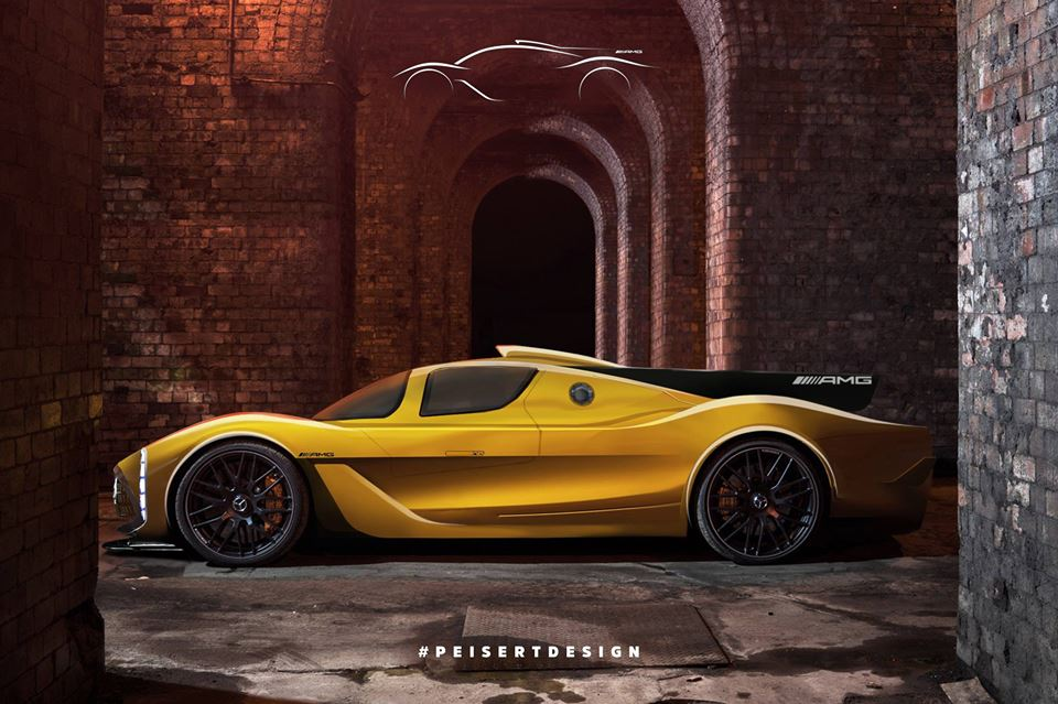 Mercedes Amg Project One Hypercar Rendered By Peisert Design