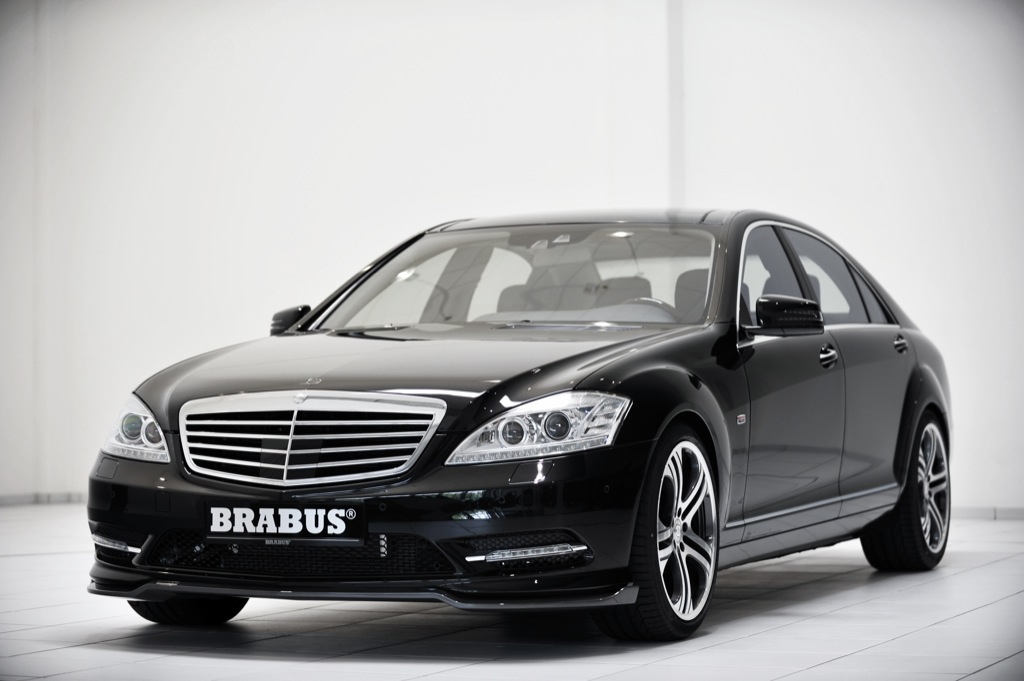 mercedes amg s klasse gets a visual boost from brabus. Black Bedroom Furniture Sets. Home Design Ideas