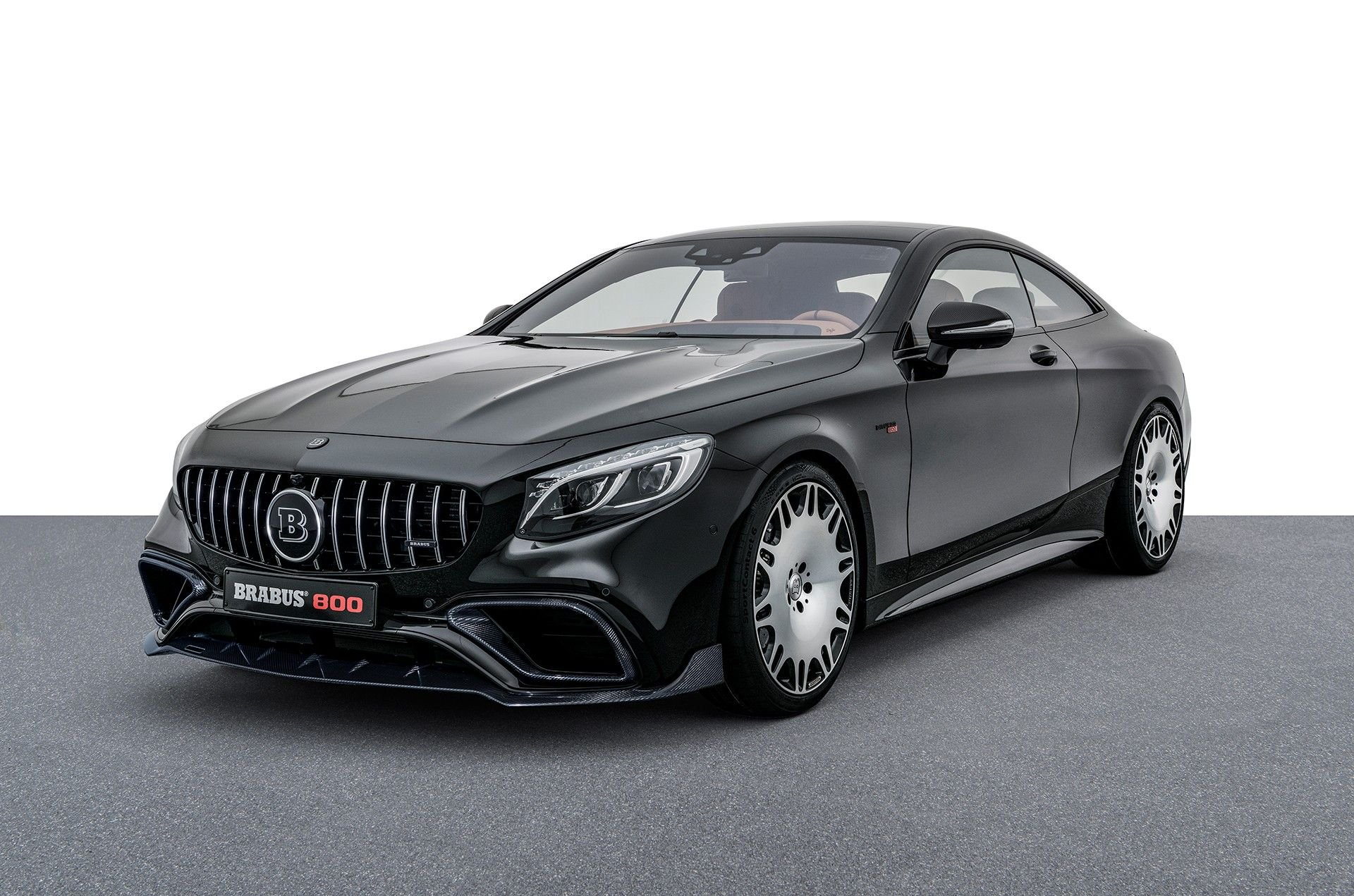 mercedes amg s63 coupe becomes sinister brabus 800 with 400 000 price autoevolution. Black Bedroom Furniture Sets. Home Design Ideas