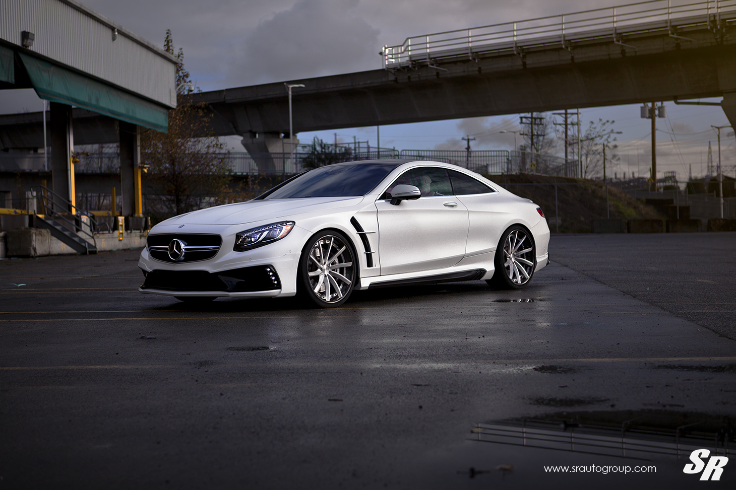 mercedes amg s63 coupe gets wald body kit and pur wheels. Black Bedroom Furniture Sets. Home Design Ideas