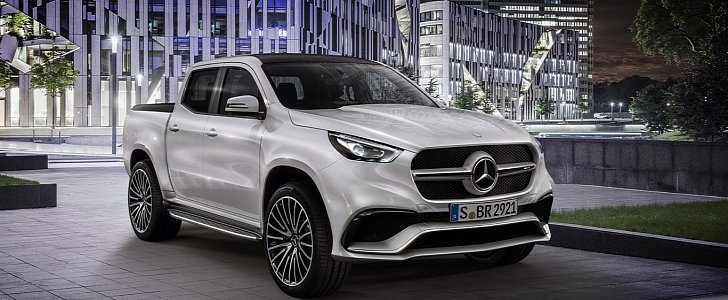 mercedes amg x 63 pickup will make raptor owners jealous autoevolution. Black Bedroom Furniture Sets. Home Design Ideas
