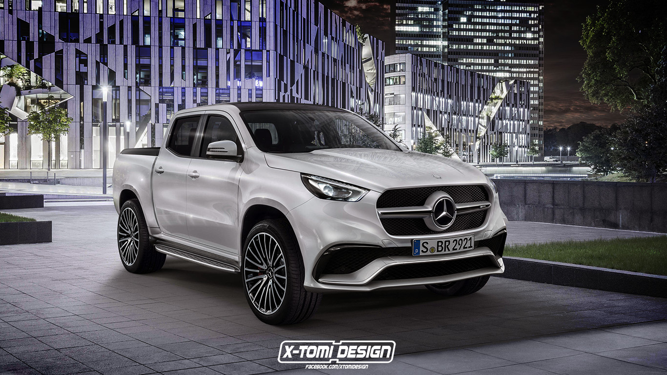 Mercedes-AMG X 63 Pickup Will Make Raptor Owners Jealous ...