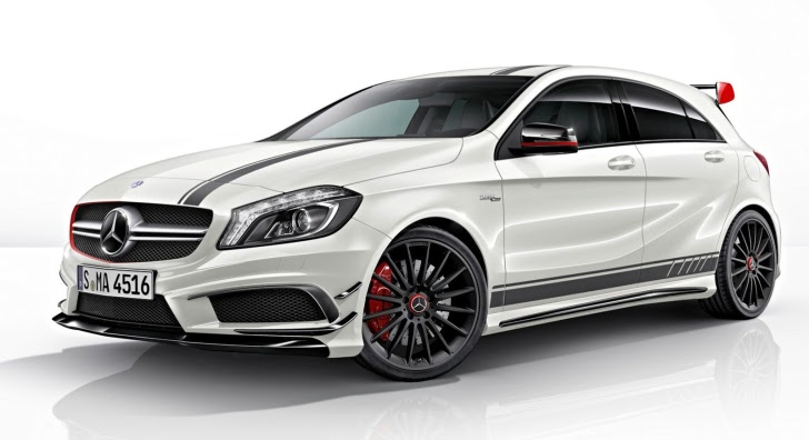 Mercedes Announces A45 AMG Edition 1