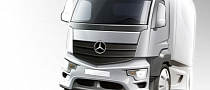 Mercedes Antos Heavy-Duty Short-Range Truck Teased