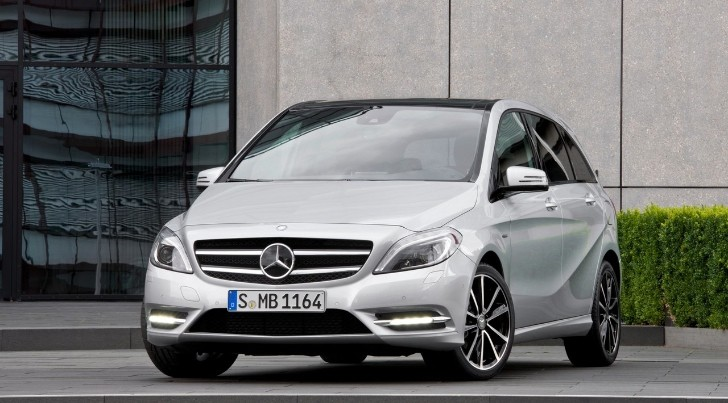 Mercedes B-Class Plug-In Hybrid Planned for US