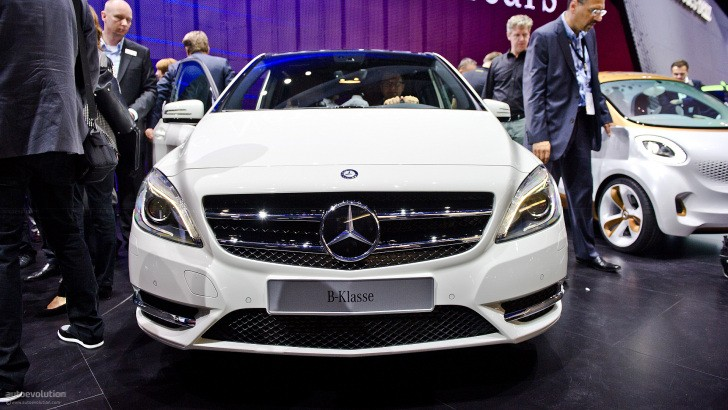 Mercedes B-Klasse Coming to US Market in 2013