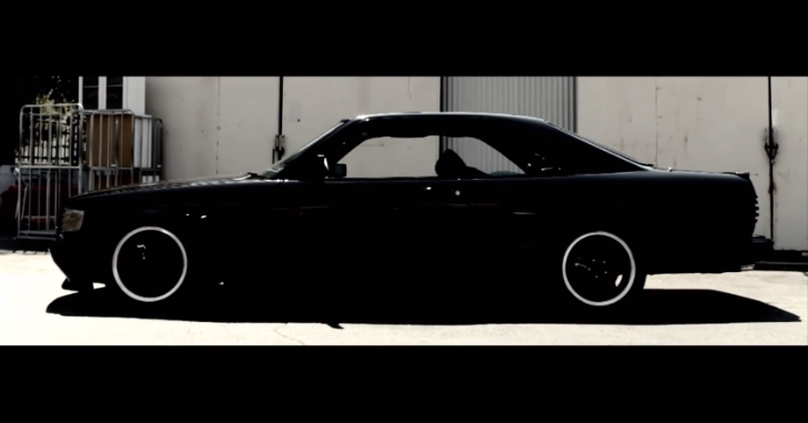 Mercedes-Benz 560 SEC AMG is Obscenity-on-Wheels [Video]