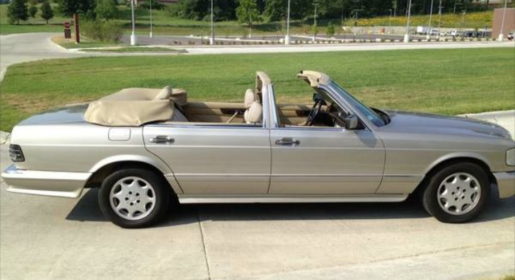 mercedes benz 560 sel w126 four door convertible autoevolution
