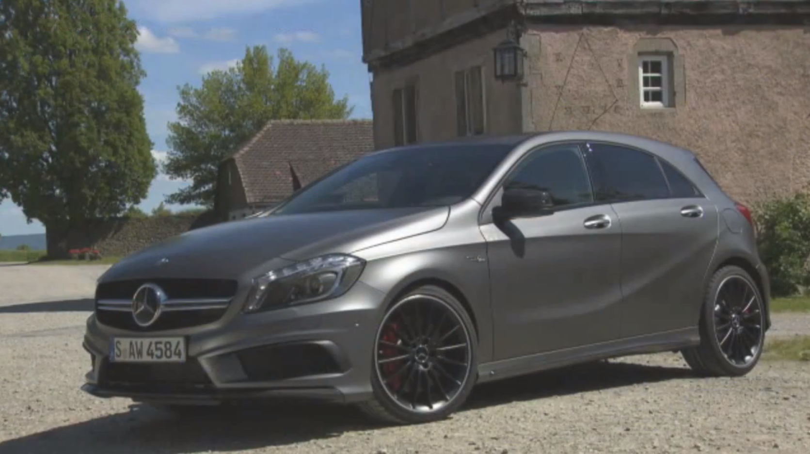 Mercedes benz a 45 amg tested by vadimauto autoevolution for Mercedes benz a 45 amg 4matic