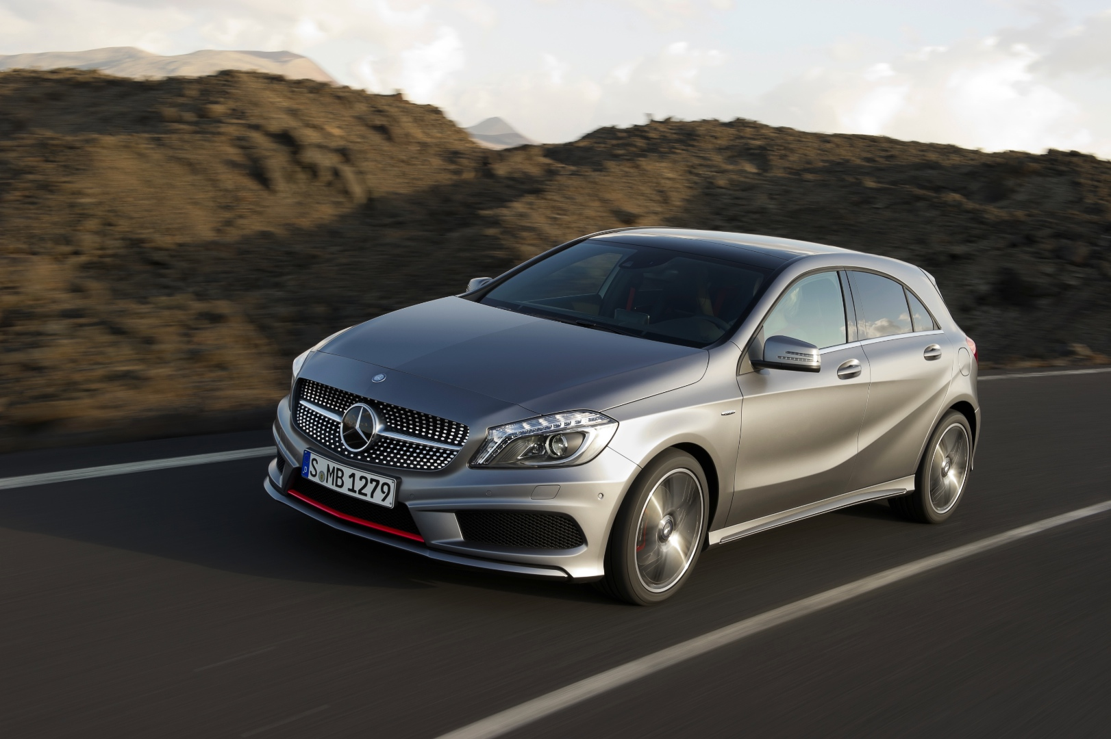 Mercedes benz a class w176 production starts at valmet in for Mercedes benz a class