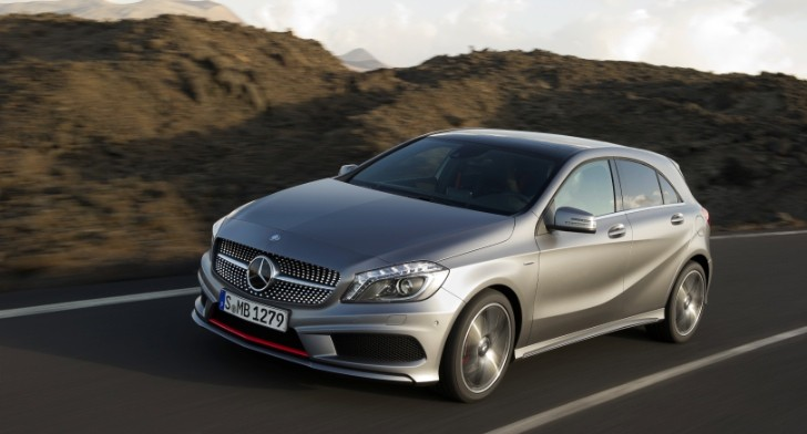 Mercedes-Benz A-Class W176  Production Starts at Valmet, in Finland