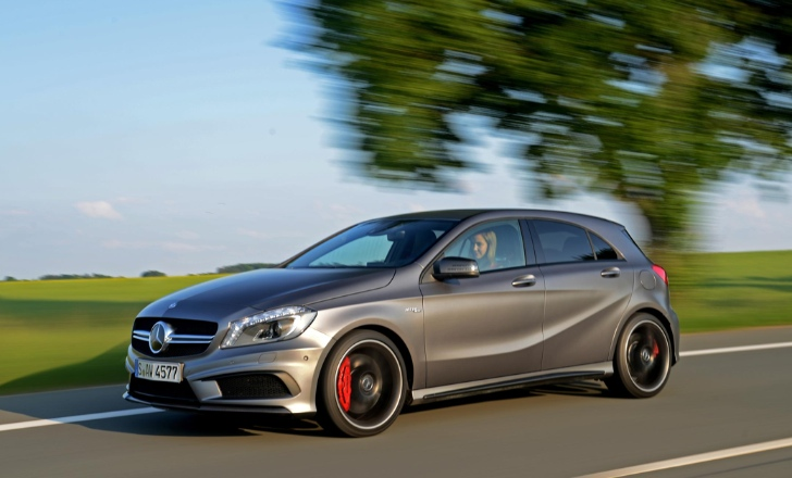 Mercedes benz a45 amg goes on sale in the uk autoevolution for Mercedes benz a45 amg for sale