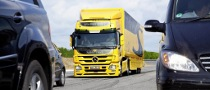 Mercedes-Benz Actros Gets Upgraded Safety