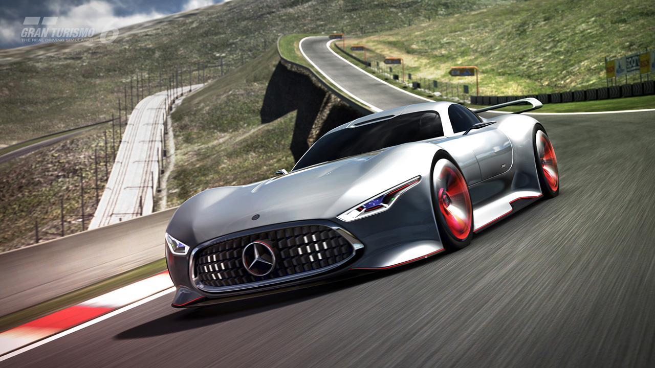Mercedes benz amg vision gran turismo racing series for Mercedes benz amg vision