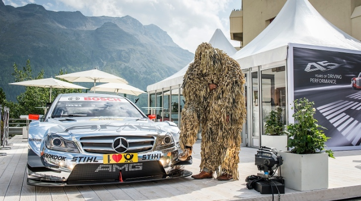 Mercedes-Benz and AMG Present Art in St. Moritz [Photo Gallery]