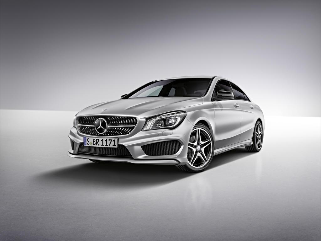 Mercedes benz announces 2014 cla accessories autoevolution for Mercedes benz amg accessories
