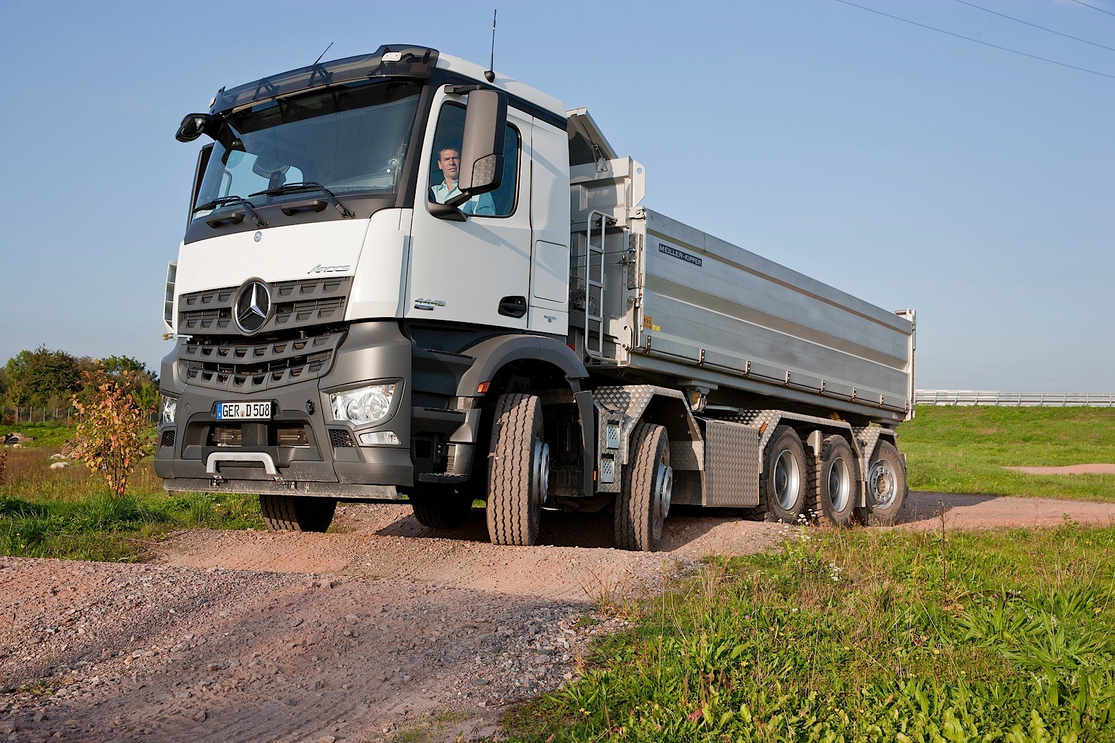 Mercedes-Benz Arocs Now Available With Five Glorious Axles ...