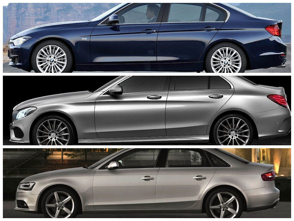 Mercedes Benz C Class W205 Vs Bmw 3 Series F30 Vs Audi A4 B8 Design