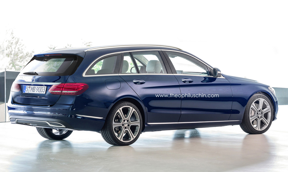 mercedes benz c class wagon s205 gets better rendering. Black Bedroom Furniture Sets. Home Design Ideas