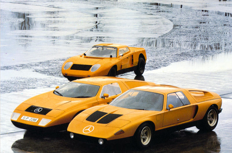Mercedes benz c111 is the most italian car they ever made for Where mercedes benz cars are made