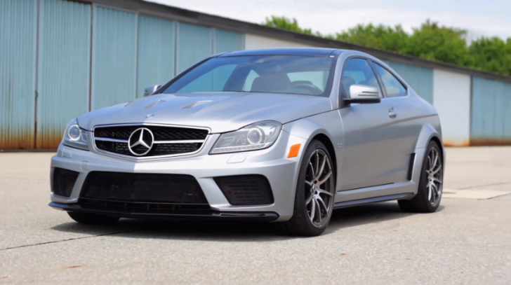 Mercedes benz c63 amg coupe black series walk around for How much is a mercedes benz c63 amg