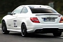 Mercedes-Benz C63 AMG Coupe Sound [Video]
