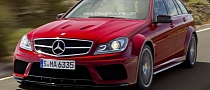Mercedes-Benz C63 AMG Estate Black Series Rendering