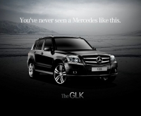 The new Mercedes GLK