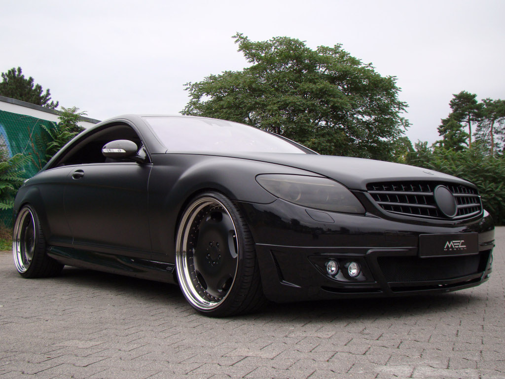 Mercedes benz cl body kit by mec design autoevolution for Mercedes benz auto body