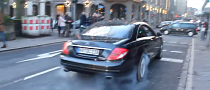 Mercedes-Benz CL500 Driver Hates His Tires - Does Too Many Burnouts [Video]