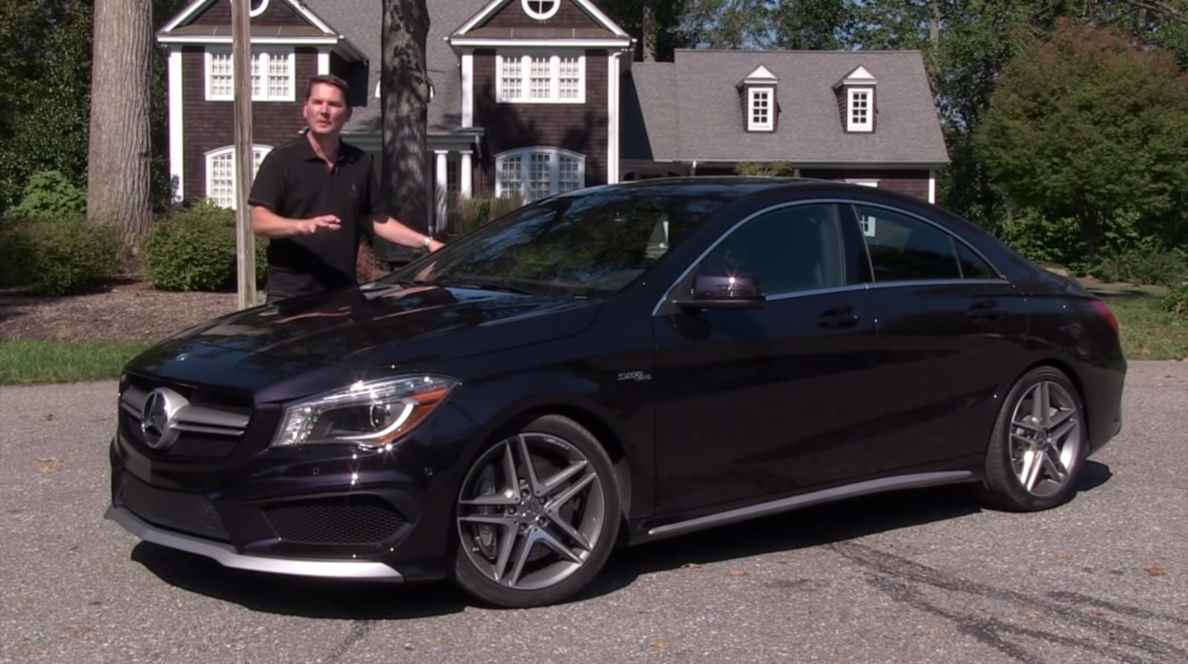 Mercedes Benz Cla 250 And 45 Amg Reviewed By Motormouth