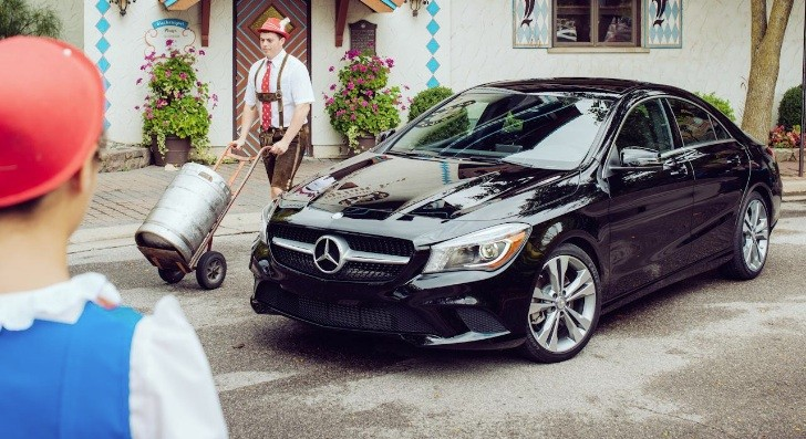 Mercedes-Benz CLA 250 Gets Reviewed by Car And Driver