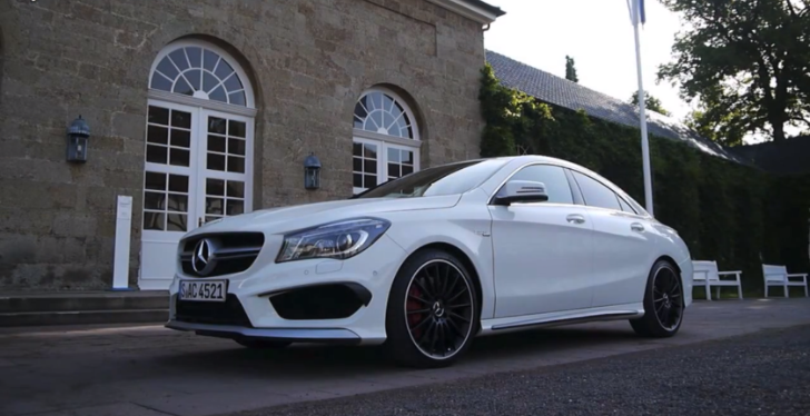Mercedes-Benz CLA 45 AMG Driven by VadimAuto [Video]