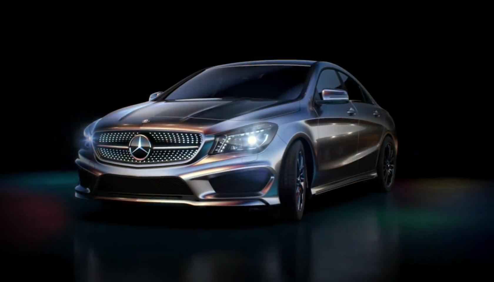 Mercedes benz cla gets alien launch commercial in japan for Mercedes benz commercials