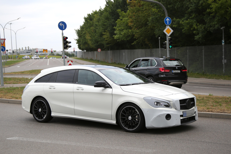 Mercedes Cla Shootingbrake Grey Range