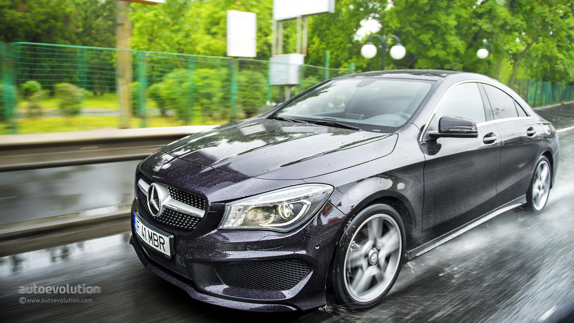 Mercedes Benz Cla Tested Autoevolution