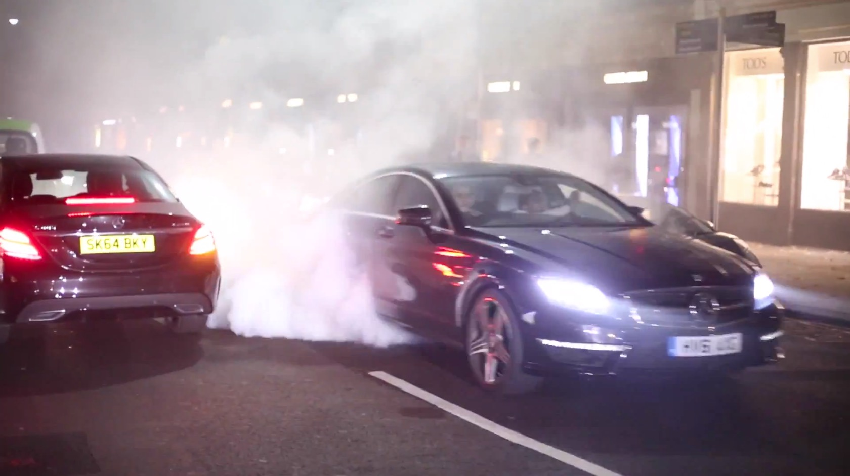 """Mercedes-Benz CLS AMG Exemplifies the """"Tires Are Evil and Must Die"""