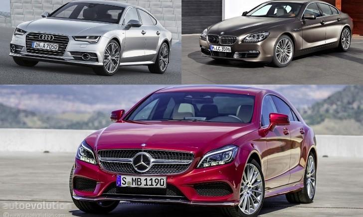 Mercedes Benz Cls Vs Audi A7 Vs Bmw 6 Gran Coupe Design Battle Autoevolution