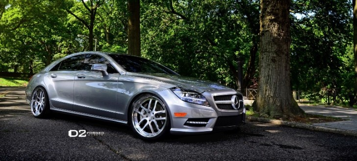 Mercedes benz cls550 shines on 20 inch d2forged wheels for Mercedes benz 20 inch wheels