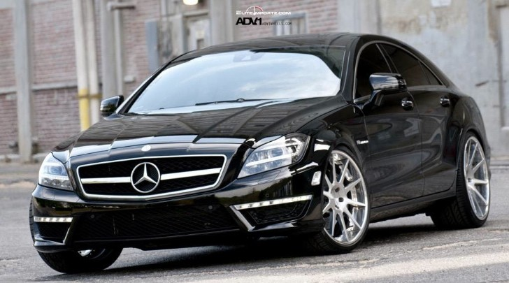 Mercedes Benz C Coupe >> Mercedes-Benz CLS63 AMG on ADV10 Deep Concave Wheels - autoevolution