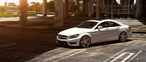 Mercedes Benz CLS63 AMG on Vossen Wheels [Photo Gallery]