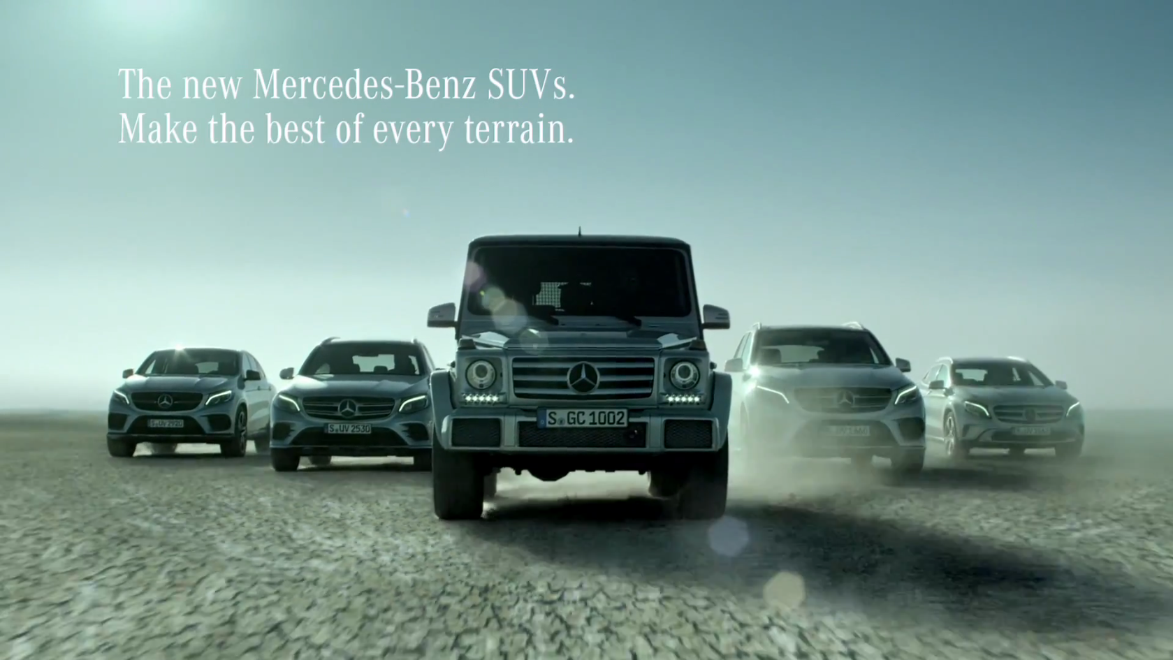 mercedes benz commercial insists suv family feels at home