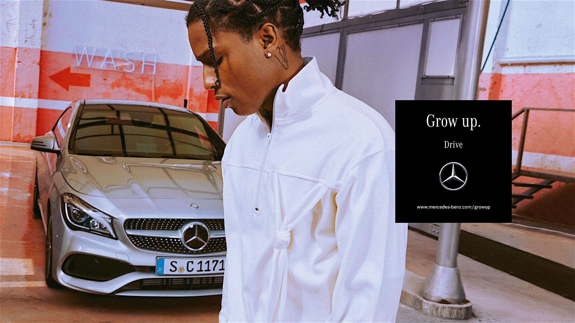 A$AP Rocky Pays Tribute to Slain Brother in Mercedes-Benz Campaign